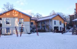 Bilde av bygget hvor Dynekilen barnehage holder til.