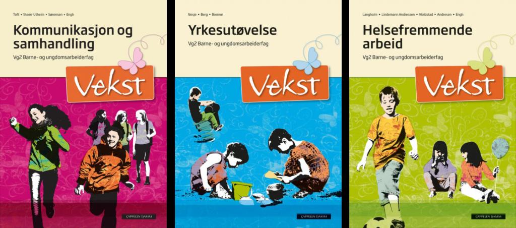 Bøker som er del av pensum i BUA-kurs