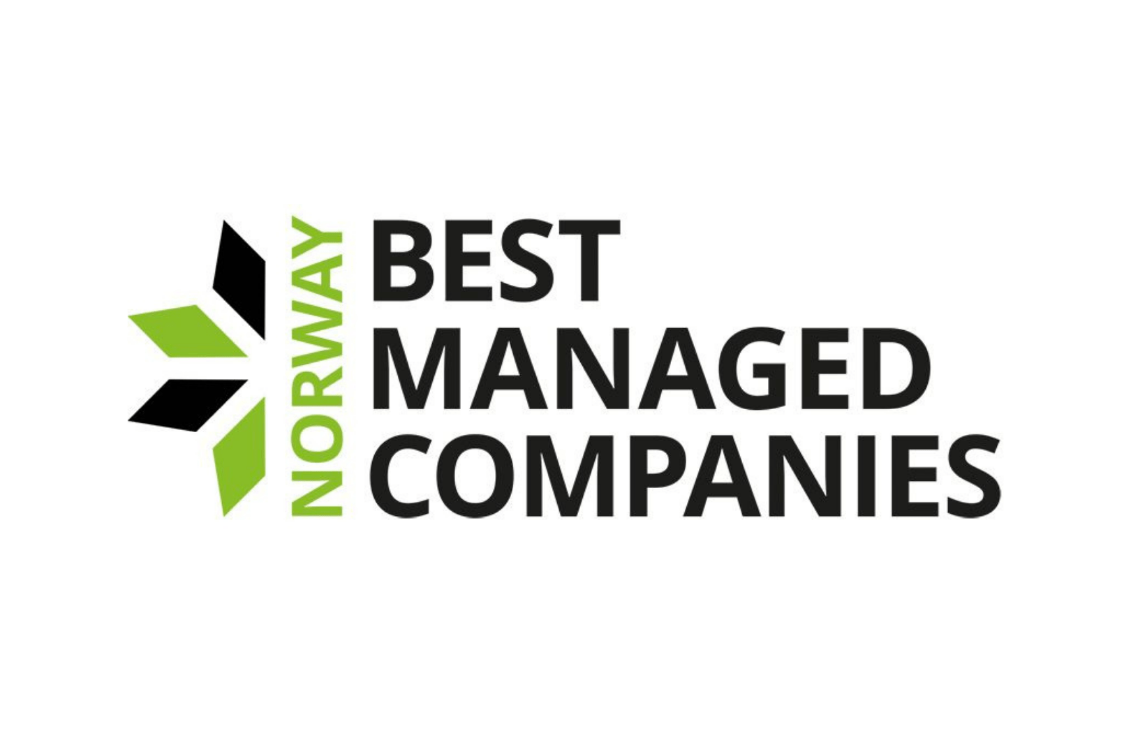 Deloitte-merke med skriften Best Managed Companies Norway""